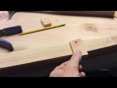 Wooden Boat Building- Haven- Faux Teak Deck
