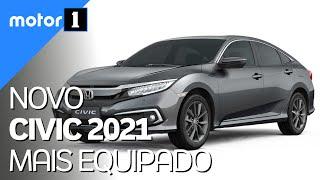 Honda Civic 2021 ganha equipamentos em todas as versões (e fica mais caro) - Motor1.com