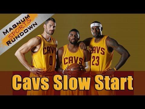 Lebron James & Cavs off to a Slow Start || Magnum Sports Rundown