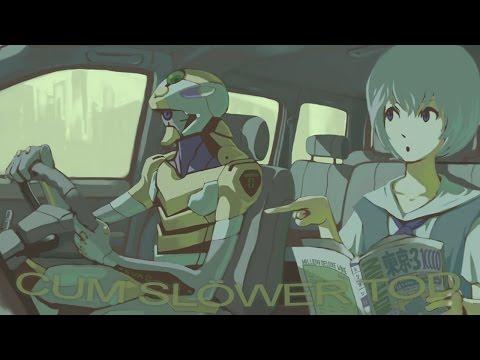 Rei lentamente convence a Shinji para que acepte la instrumentalización
