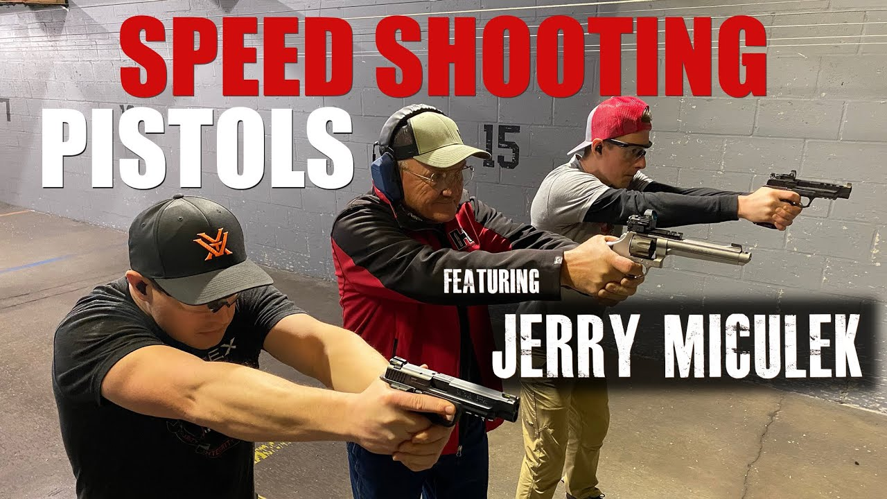 How to Speed Shoot a Pistol with Jerry Miculek | Gould Brothers
