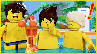 Lego Ninjago Swimming Pool Funny Moments Compilations