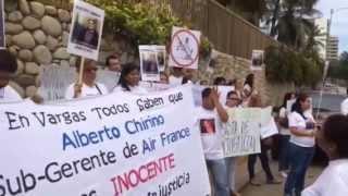 Innocent prisonnier au Venezuela