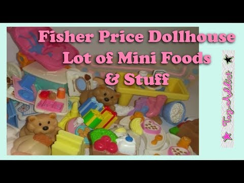 Fisher Price Vintage Dollhouse Food & Minis Surprise Bag ~ Toy-Addict