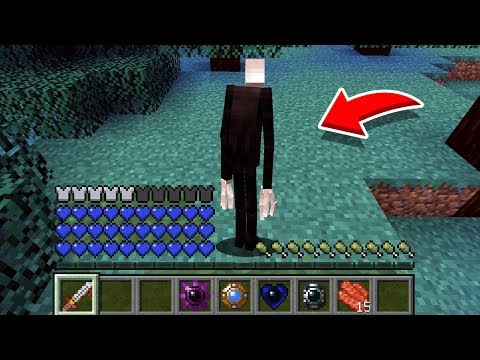 Minecraft: How To Play SLENDERMAN In Minecraft! REAL LIFE SLENDER! Battle NOOB VS PRO Animation