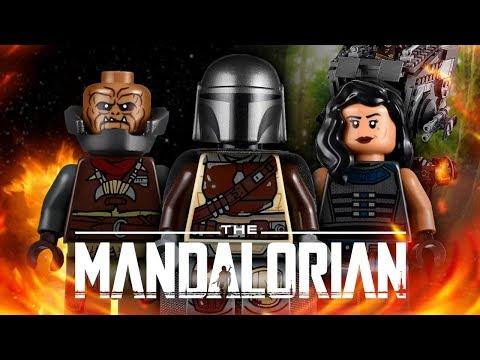 LEGO ЗВЁЗДНЫЕ ВОЙНЫ: МАНДАЛОРЕЦ. ДИВЕРСИОННЫЙ AT-ST™ ОБЗОР LEGO 75254