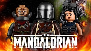 lEGO ЗВЁЗДНЫЕ ВОЙНЫ: МАНДАЛОРЕЦ. ДИВЕРСИОННЫЙ AT-ST ОБЗОР LEGO 75254