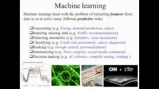 undergraduate machine learning 1: Introduction to machine learning