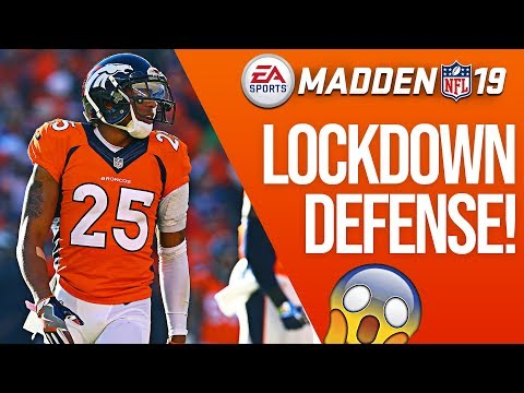 The BEST Coverage Defense in Madden 19! No Fly Zone!
