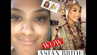 ASIAN BRIDAL TRANSFORMATION | Chinutay A.