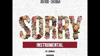 Rick Ross ft. Chris Brown - Sorry (INSTRUMENTAL) w/ Download