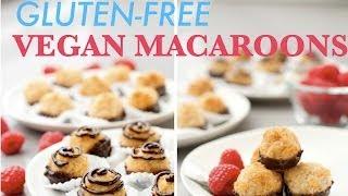 Gluten-free Vegan Macaroons! :d