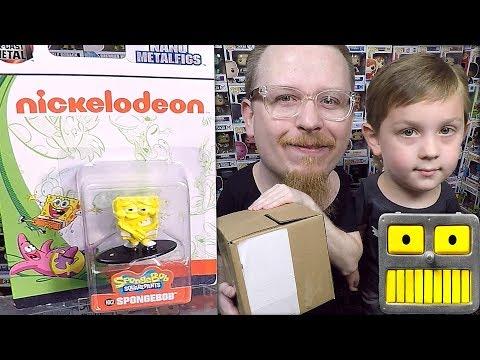 Epic Opening 10 Jada Diecast Nano Metal Figures Dad Vs Son Who Wins Spongebob Squarepants Robin