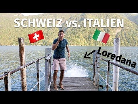 Schweiz vs. Italien   VLOG² #73 Luganersee   Tessin