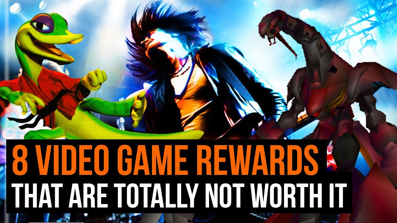 8 game rewards that are totally not worth the trouble youtube