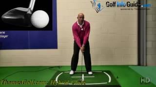 Senior Hybrid Golf Clubs Ball Position