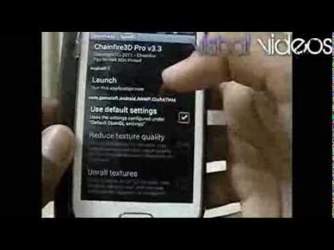 Galaxy S Duos - How to run high graphic games