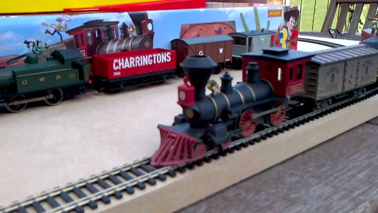 New Toy Story 3 Train : Hornby toy story train youtube