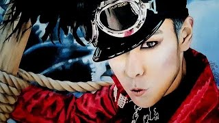 T.O.P (탑 ) of BIGBANG ♥ K-pop ♥ Speed Drawing ♥ PASTEL