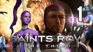 Saints Row 3 the Third Walkthrough - Gangstas in Space DLC Gameplay Part 1