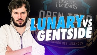 TEAM LUNARY VS GENTSIDE - Qualifications Valenciennes Game Arena (LoL Open Tour)