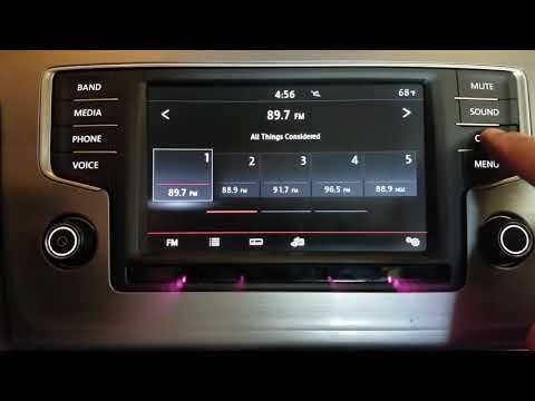 VW Golf Sportwagen TPMS Reset (2016-Present)