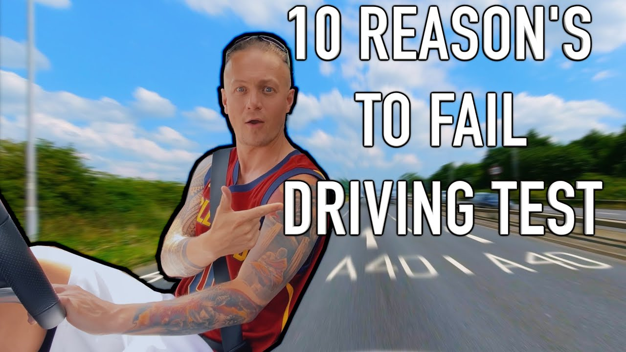 5 Move Off - Safely Top 10 Reasons For Failing Driving Test uk 2020