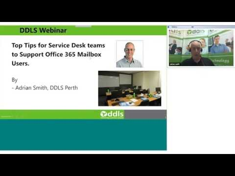 Top tips for Service Desk teams to Support Office 365 Mailbox Users