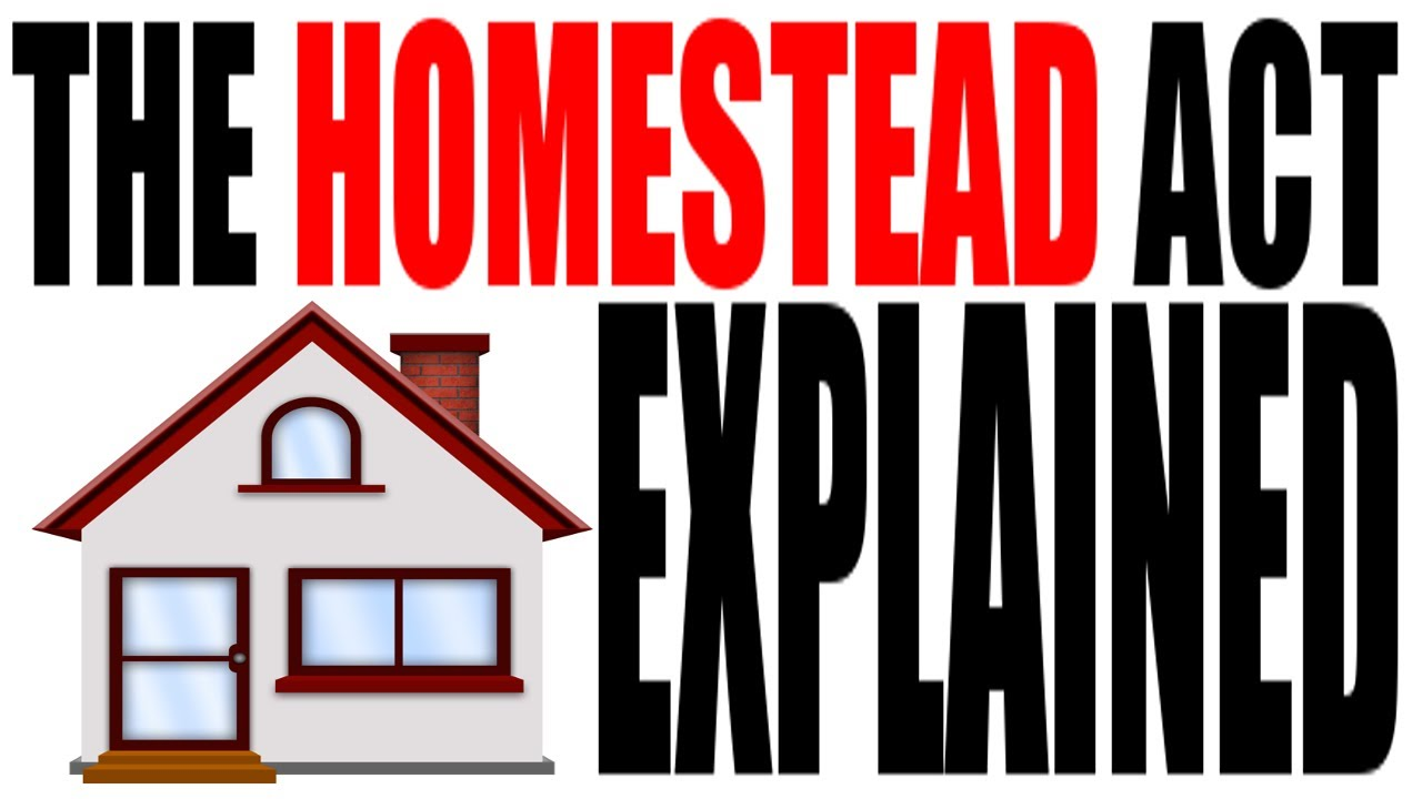 The homestead act of 1862 explained us history review for Kansas homestead act