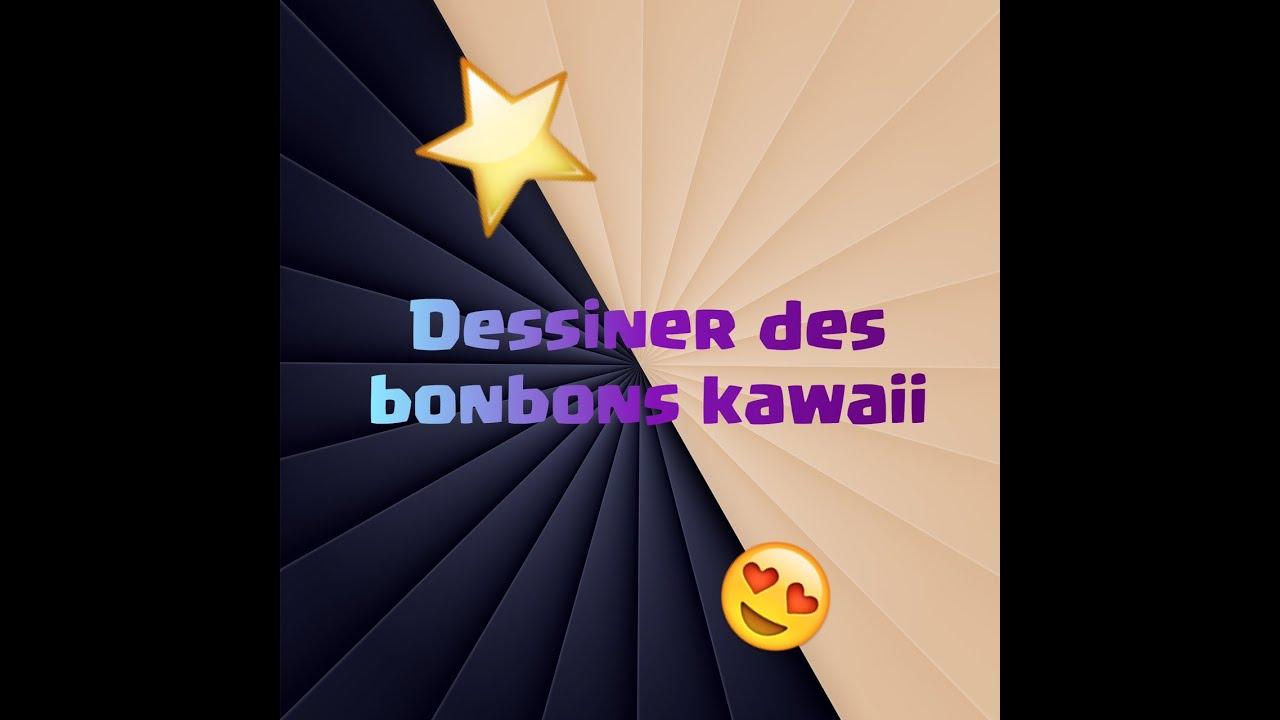 Dessiner des bonbons kawaii youtube - Bonbon a dessiner ...