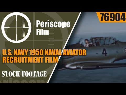 U.S. NAVY 1950 NAVAL AVIATOR RECRUITMENT FILM  PENSACOLA FLORIDA  76904