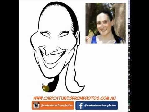 FREE Digital Caricature Sketch Perth - 02