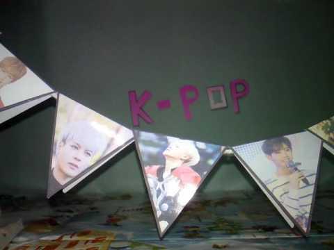 [DIY]-2#รูปแขวนผนังK-POP