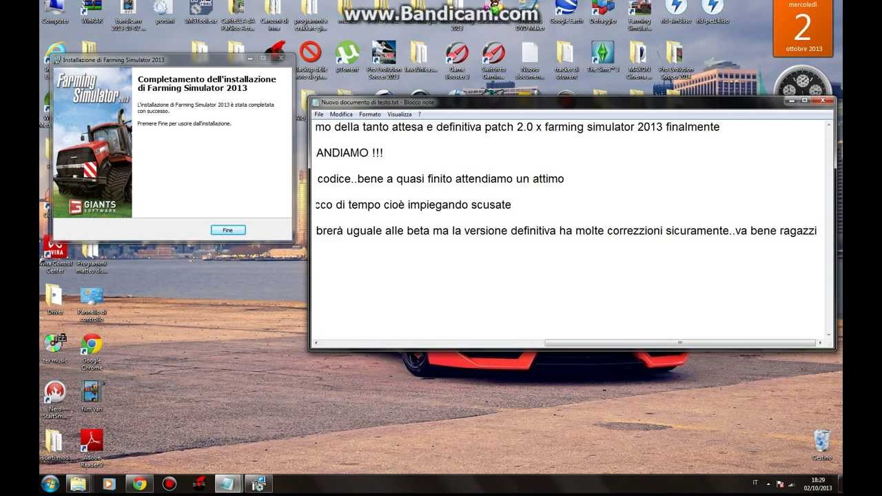 Tutorial installazione patch 2 0 definitiva farming simulator 2013 youtube