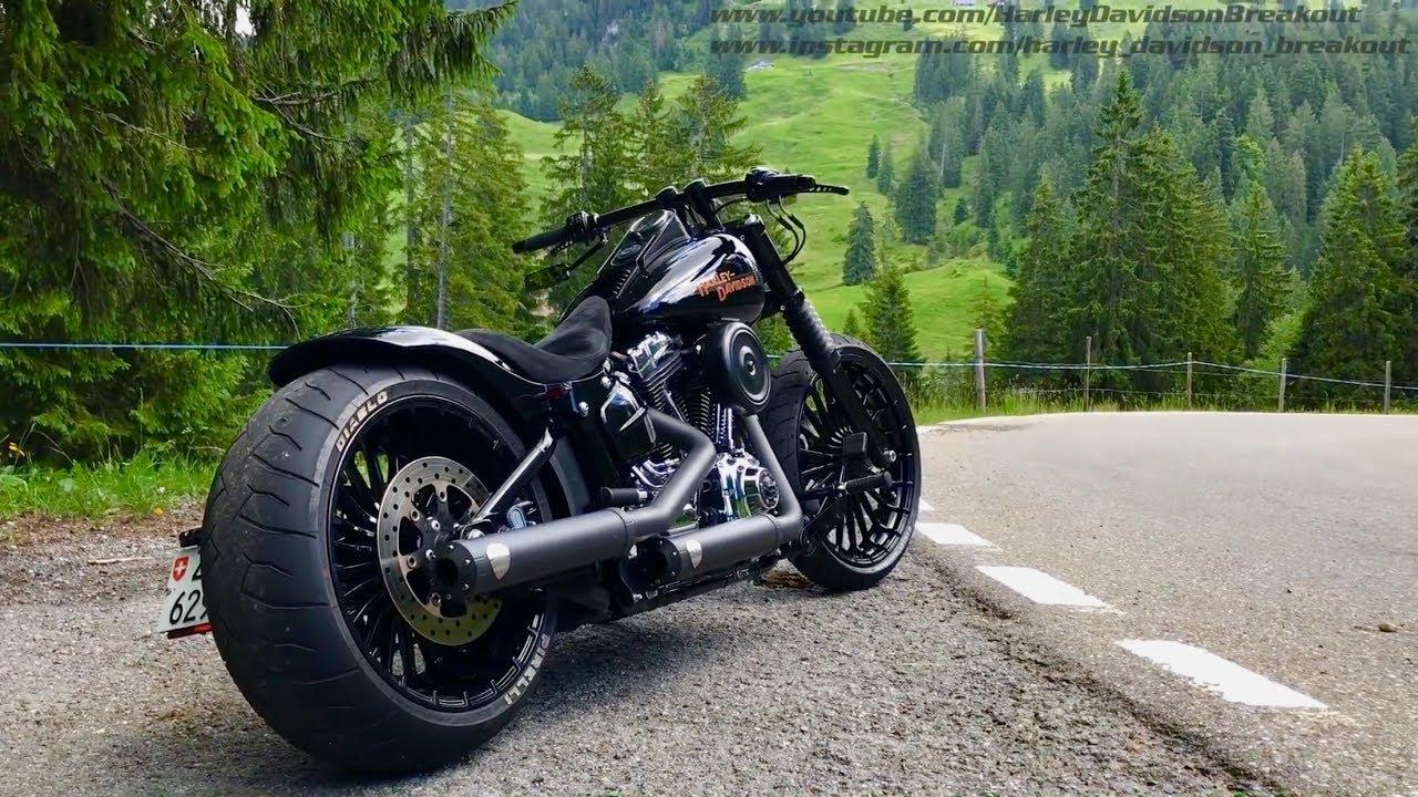 Harley-Davidson FXSB Breakout Rideout 17 06 17