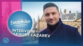 Sergey Lazarev (Russia ????????): 'Don't look at the bookmakers!' - Eurovision 2019