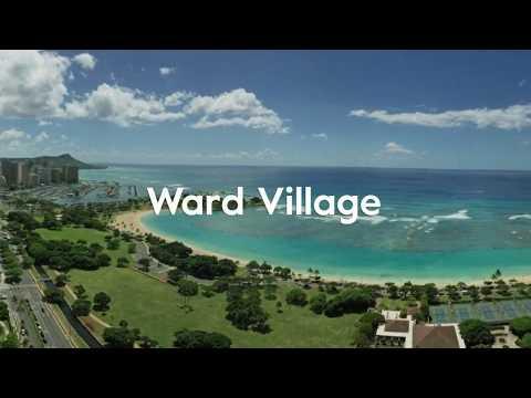 Ward Village in Kakaako, Honolulu