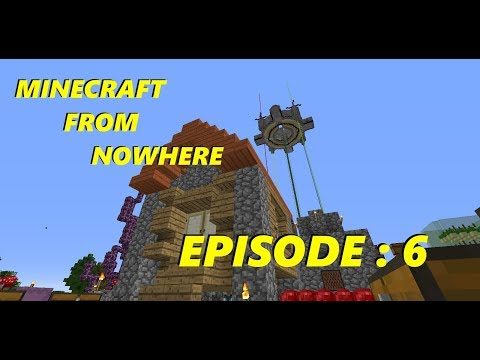 Minecraft From Nowhere - Expanding the Base