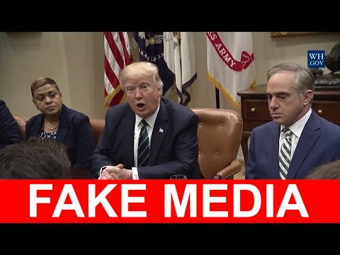 President Donald Trump Leads a Listening Session on Veterans Affairs - OBAMACARE IS DEAD, FAKE NEWS