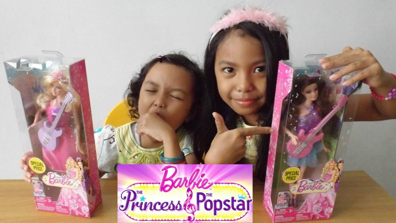 MAINAN ANAK ♥ BONEKA BARBIE THE PRINCESS AND THE POPSTAR  aa7e35d4a1