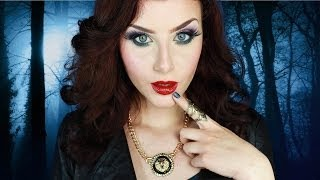 MALEFICENT IS A BAD GIRL! Makeup Tutorial | None Fashion and Beauty Thumbnail