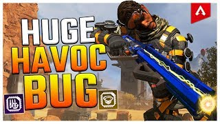 Huge Apex Legends Havoc Select Fire Bug (NEW TRICK)