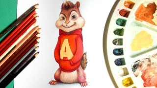 ♬ How to draw Alvin from alvin and the chipmunks ♬