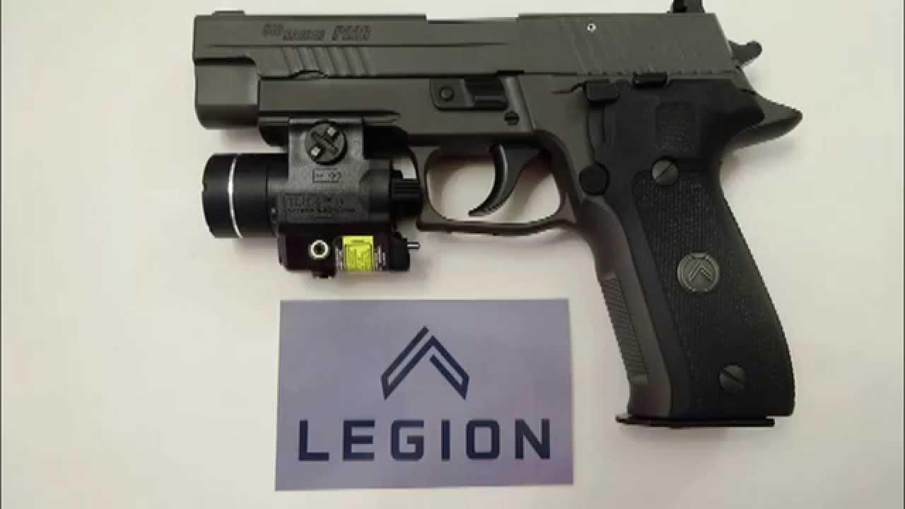 Sig Sauer P226 legion Gun Test - YouTube