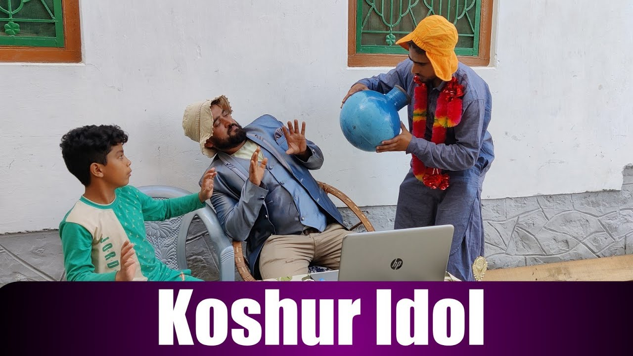 Koshur Idol 🤣 || Funny Video || By Ultimate Rounders