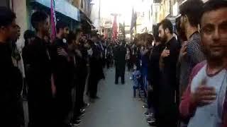6th Day Muharram Processions Taken in Srinagar. Reported By Nasir Khan