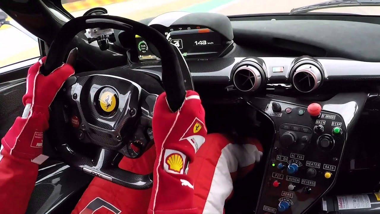 Vettel Driving Hypercar Ferrari Fxxk Youtube