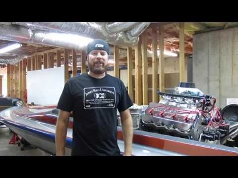 Finnegan's Garage Ep.11: Hemi-Powered Drag Boat Header Build