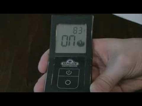 Napoleon F40 & F50 Remote Controls