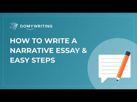 how to write a narrative essay  easy steps